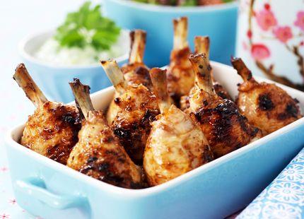 Kycklingben med tsatsiki och gurk- & grapesallad | MåBra - Nyttiga recept