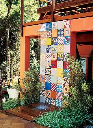 azulejo colorido
