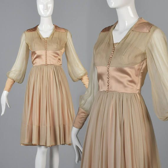 This classic silk chiffon cocktail dress will never go out of style! Would be lovely for a wedding!   1950s, 50s, 50s style, 50s fashion, 50s vintage, 1950s vintage, vintage 50s, vintage 1950s, 1950s dress, 50s dress, 1950s dresses, 50s dresses, vintage dress, vintage dresses,1950s girl, 50s girl, 1950s girls, 50s girls, 1950s gal, 50s gal,Pin up girl, pinup, pin up style, pinup fashion, true vintage dress, silk dress, true vintage