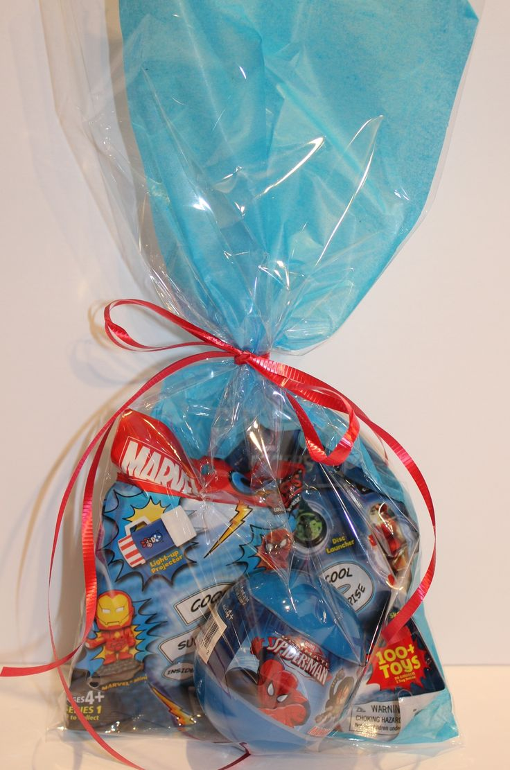 It's a Marvel Spectacular..this Loot Bag includes 2 Grabzags and a Spiderman Mini Ball, perfect for that superhero boy in your life
