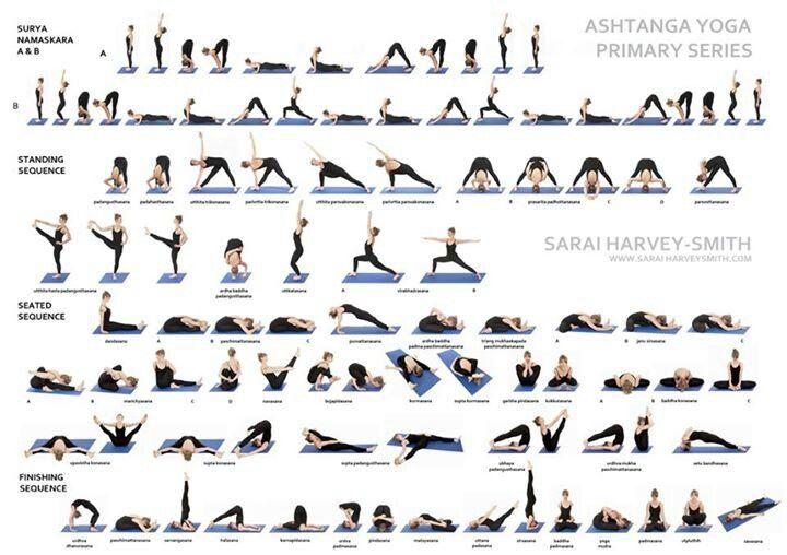 Ashtanga yoga primary series | yoga practice | Pinterest ...