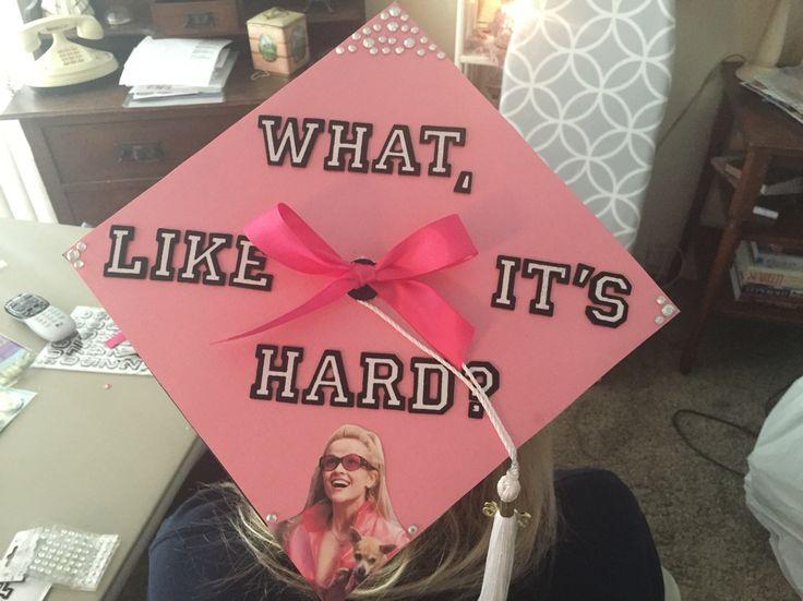 Graduation Cap Elle Woods Legally Blonde
