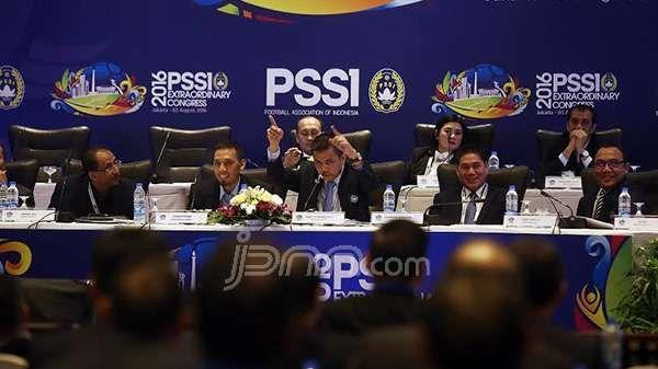 Kongres PSSI Sejuk, tapi Menpora Kecewa