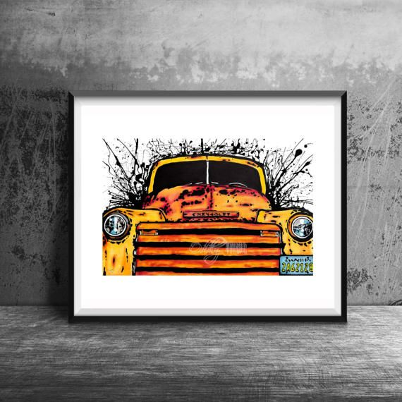 1948 Chevy Chevrolet Truck Painting Print