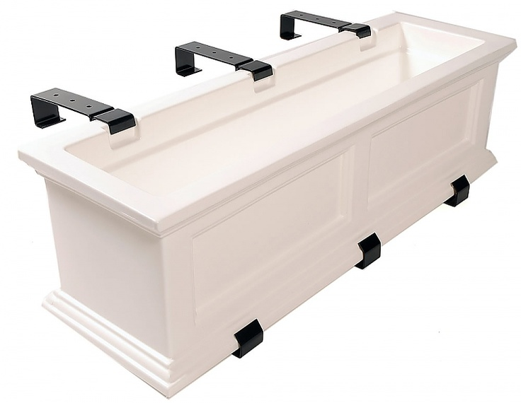 Deck rail planter box - could be window boxes