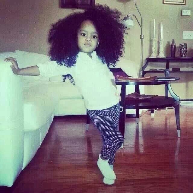 Beautiful Black Kids Afro Baby You Got Swag Natural