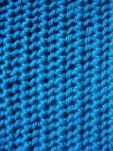 FREE knitting pattern - Slip and knit stitch 12ply scarf