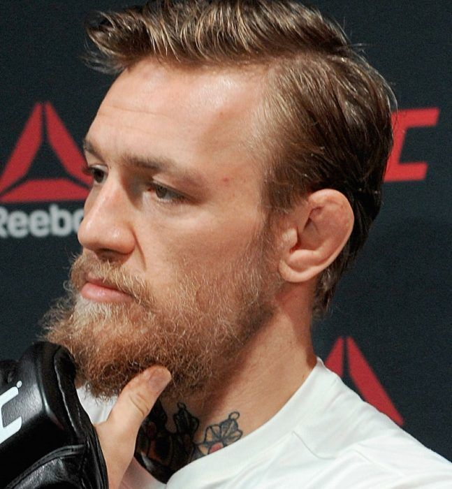 The Haircut With Receding Hairline Conor Mcgregor Haircut Conor Mcgregor Conor Mcgregor Wallpaper