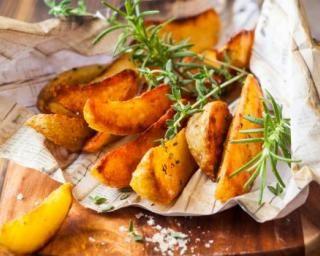 Pommes de terre frites au thym et parmesan à l'Actifry