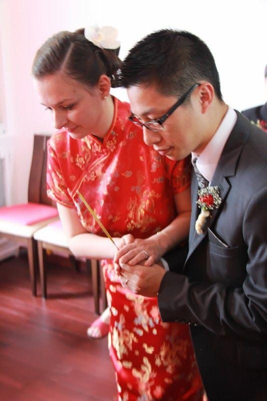 Mon mariage mixte en deux temps  la cérémonie chinoise