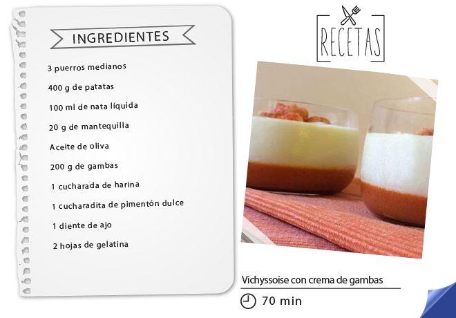 Esta original receta de vichyssoise con crema de gambas aporta un toque innovador a un plato tradicional. #Hipercor