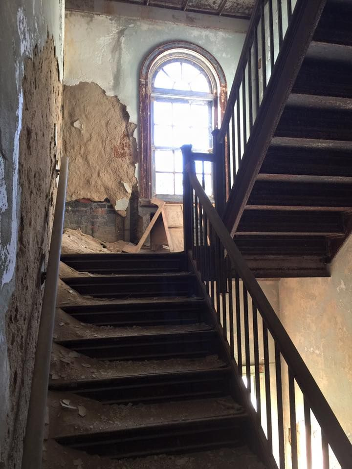 Visiting Abandoned Glenn Dale TB Hospital #MD  #haunting places http://kathrynknightbooks.blogspot.com/2017/10/the-abandoned-glenn-dale-tb-hospital.html