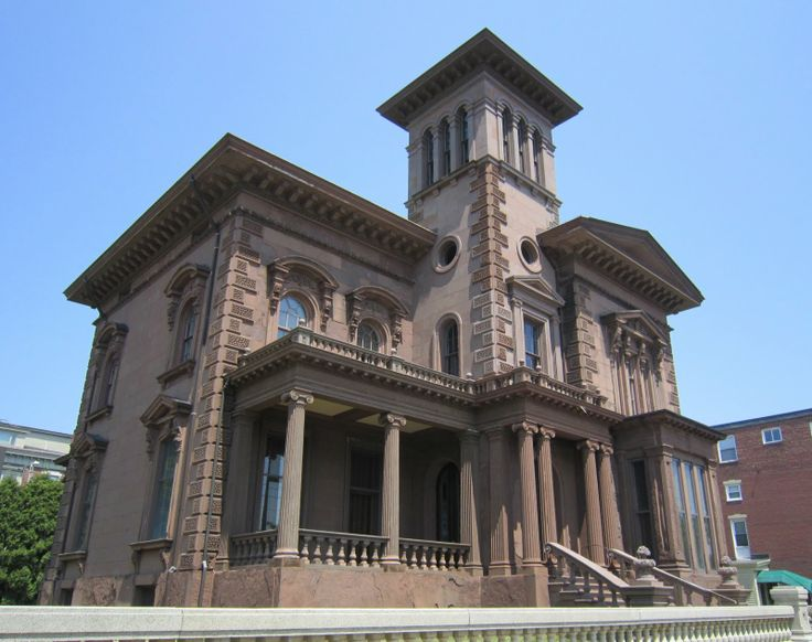 Victoria mansion also known as the morse libby house or for American residential architecture