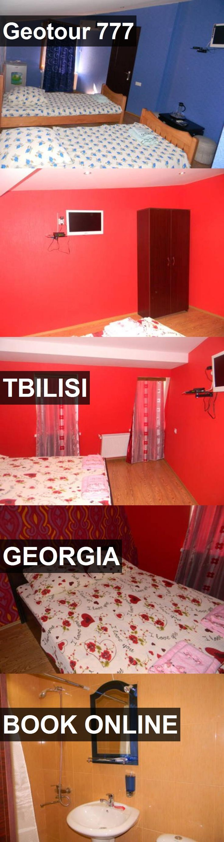 Hotel Geotour 777 in Tbilisi, Georgia. For more information, photos, reviews and best prices please follow the link. #Georgia #Tbilisi #travel #vacation #hotel