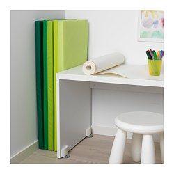 PLUFSIG Tapis de gymnastique pliant, vert - 78x185 cm - IKEA