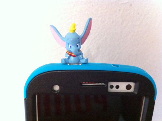 Cute Disney Character  Dumbo the Flying Elephant by CoolerThanCool, $3.59