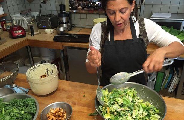 Salade césar sans gluten sans produits laitiers de Bonnie | Le Magazine web de Jacynthe | Jmagazine