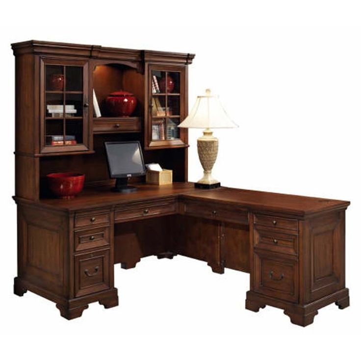 Office L Shaped Desk With Hutch Corner L Shaped Office Desk With Hutch Black And Cherry – Naindien