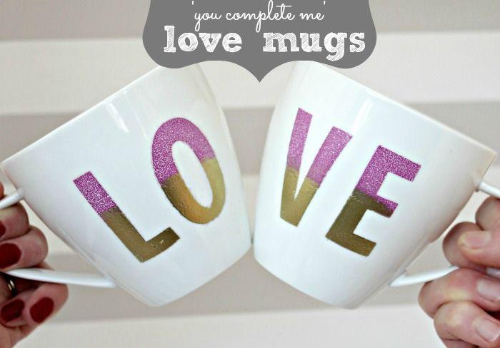 You Complete Me Love Mugs