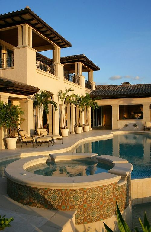 Beautiful Spanish Homes #4: Harwick Homes, Bonita Springs, FL.