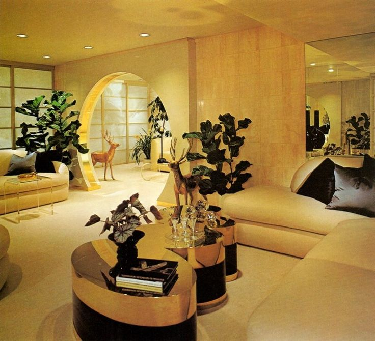 Contemporary Apartments 1982 Courtesy of Architectural Digest