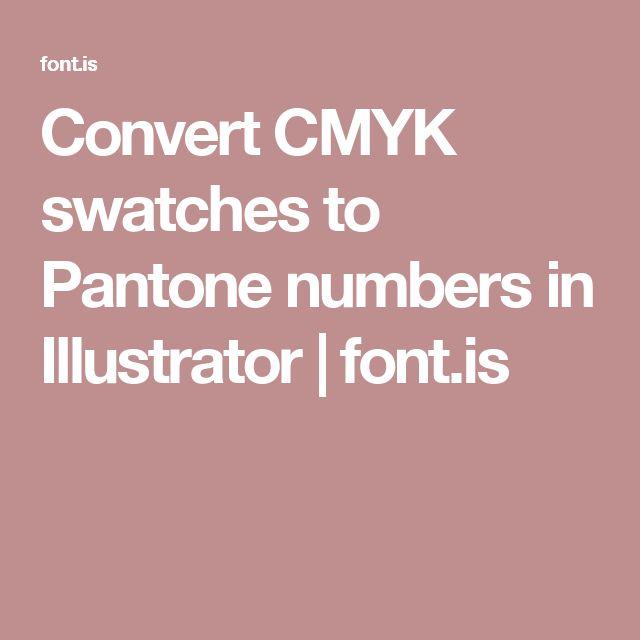 convert pdf to cmyk illustrator