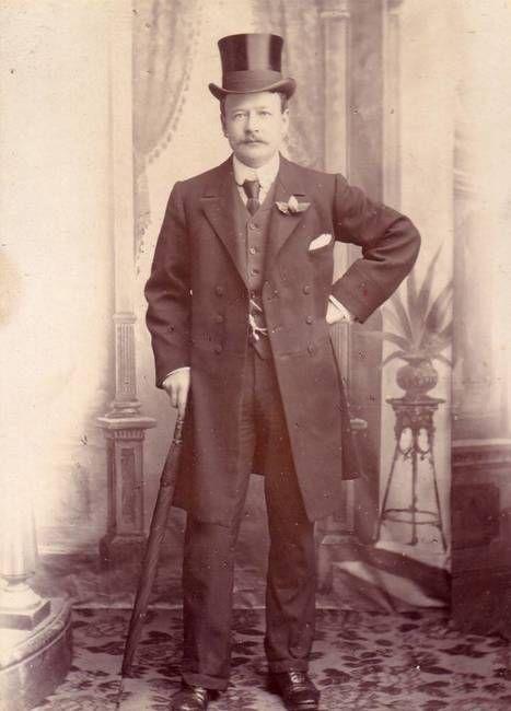 Edwardian gentleman circa 1910