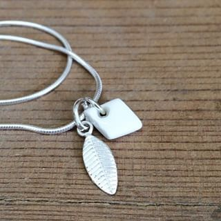 How pretty?! porcelain diamond & sterling silver #leaf on snakechain #bracelet. 😍 #purelyporcelain #giftideas #madeincapetown