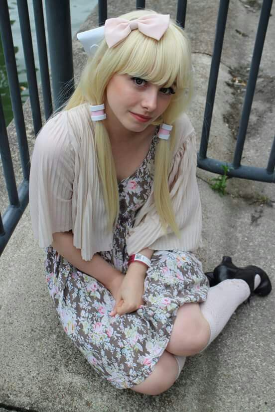 Chi -  Chobits by littleshoni, littlecosplays. At mcm expo London 2015. Photo by Andrew Armstrong