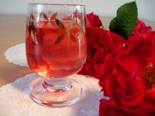 Ликер из розы