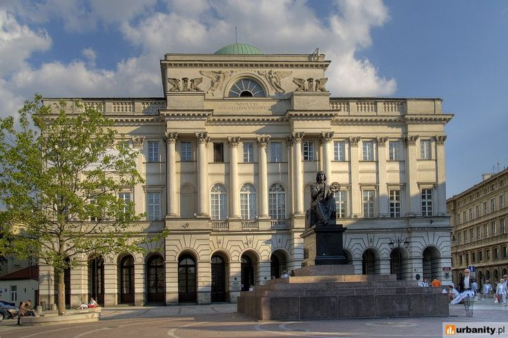 Antonio Corazzi, Pałac Staszica w Warszawie