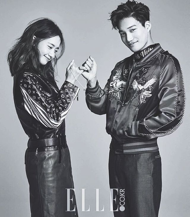 160116 | Kai & Yoona for ELLE Korea | February Issue ♡
