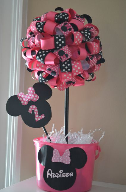 """Photo 10 of 16: Mickey Mouse Clubhouse or Minnie Mouse / Birthday """"Addison's Minnie Mouse Party"""" 