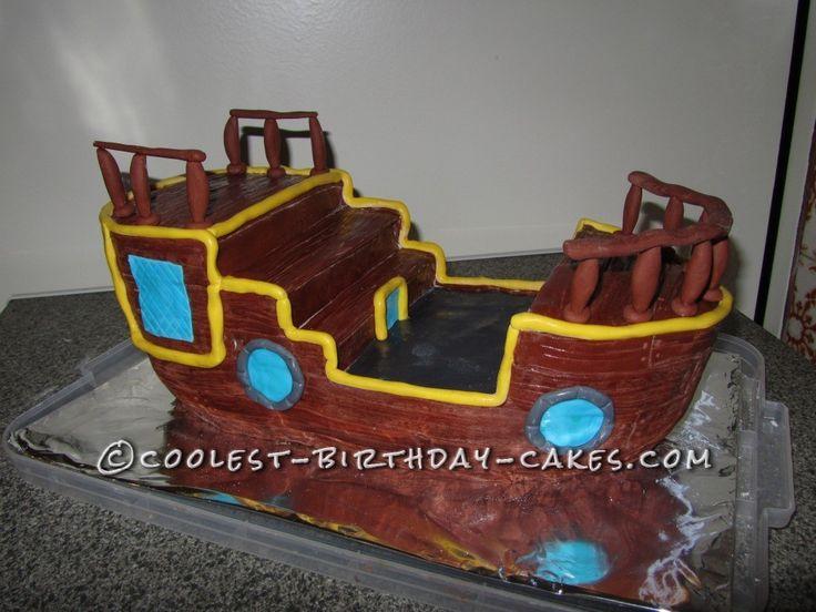 Pirate Birthday Cake Dublin