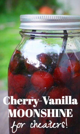 Cherry Moonshine for Cheaters (no still, less waiting)