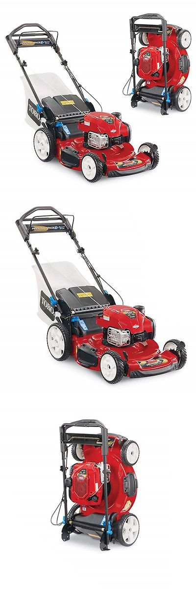 Walk-Behind Mowers 71272: Toro 20340 22-Inch 163Cc Personal Pace Smartstow Gas Powered Push Lawn Mower -> BUY IT NOW ONLY: $399 on eBay!
