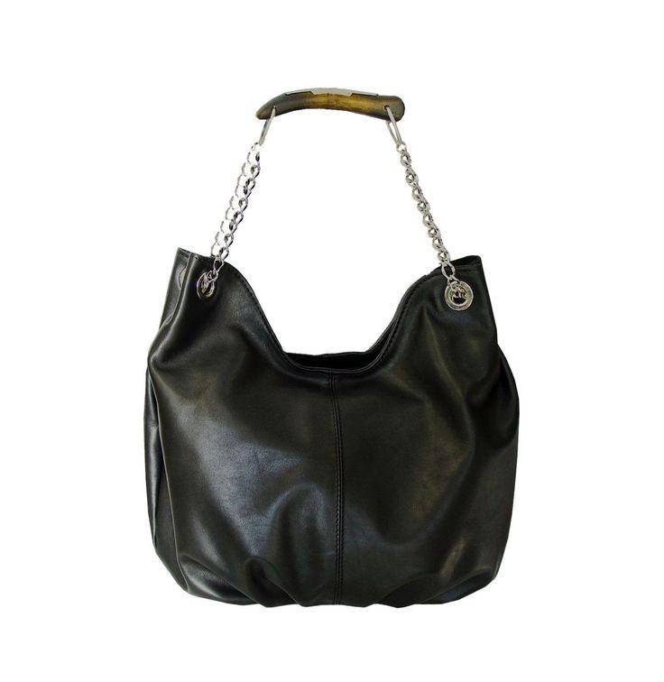 Dámska štýlová kožená kabelka. Kabelka je vyrobená z prírodnej triesločinenej usne. Vycibrený taliansky vkus a zmysel pre detail
