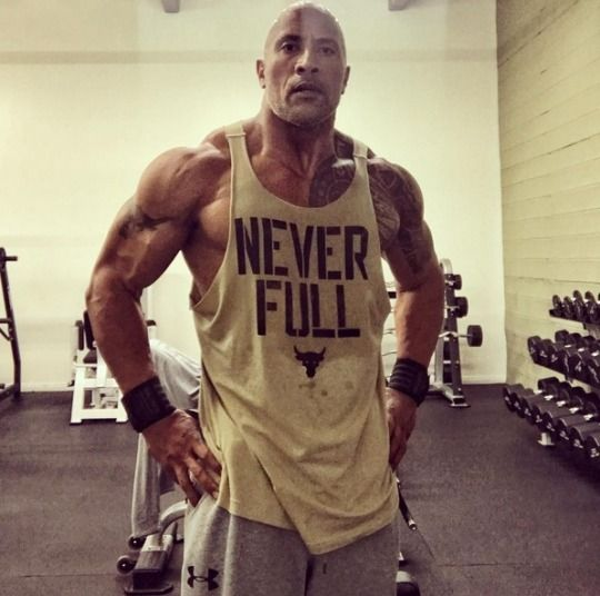 Dwayne Johnson/BOY,IS PUMPED UP THEIR GIRLS, HE MUST HAVE JUST GOTTEN THROUGH WORKING OUT WITH SOME HEAVIER WEIGHTS THAN USUAL.!!!!! HE LOOKS LIKE HE IS MADE OF ROCKS & BOWLDERS !!!!❤