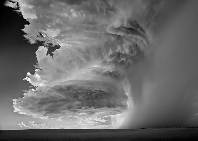 L'Iris d'Or, Professional Winner Mitch Dobrowner, USA. Category Landscapes: Storms