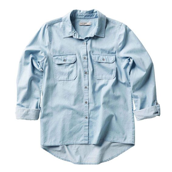 Just Jeans   Snow Wash Cambray Shirt   $49.99