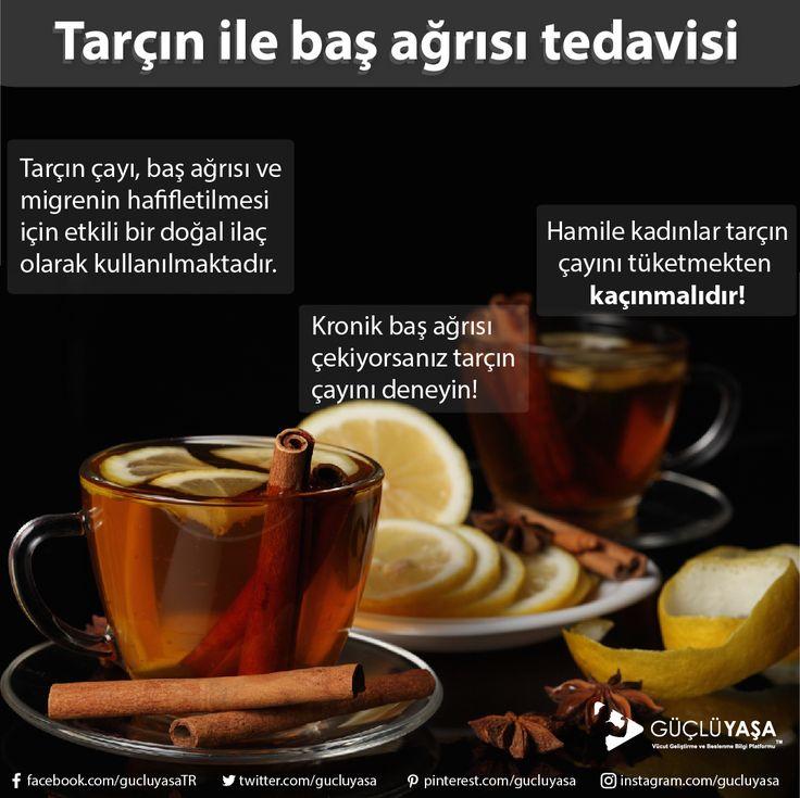 Tarçın çayı, strese bağlı baş ağrısı ve migrene iyi gelir. gucluyasa.com  #diyet #diet #beslenme #nutrition #sağlık #fitlife #fityaşam #sağlıklıyaşam #sağlıklıbeslenme #sebze #meyve #health #zayıflama #kiloverme #kilo #cinnamon #türkiye #güçlüyaşa