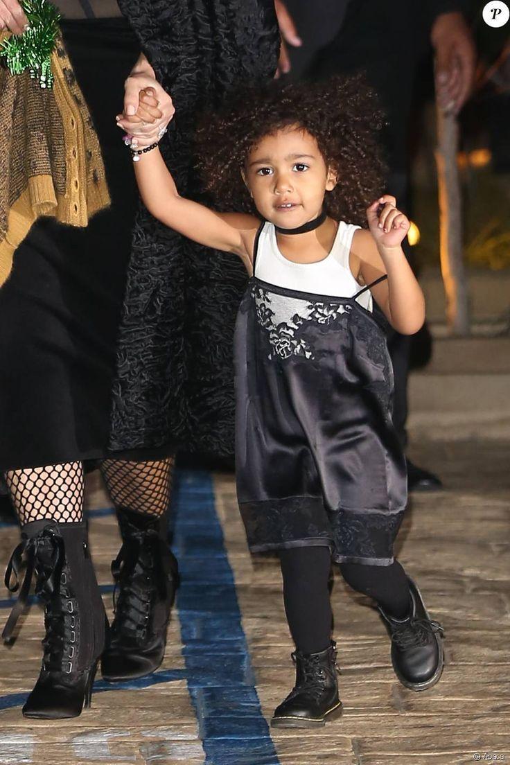 North Westà la soirée d'anniversaire de Rob Kardashian Jr. au restaurant Nobu à Malibu, le 17 mars 2016.