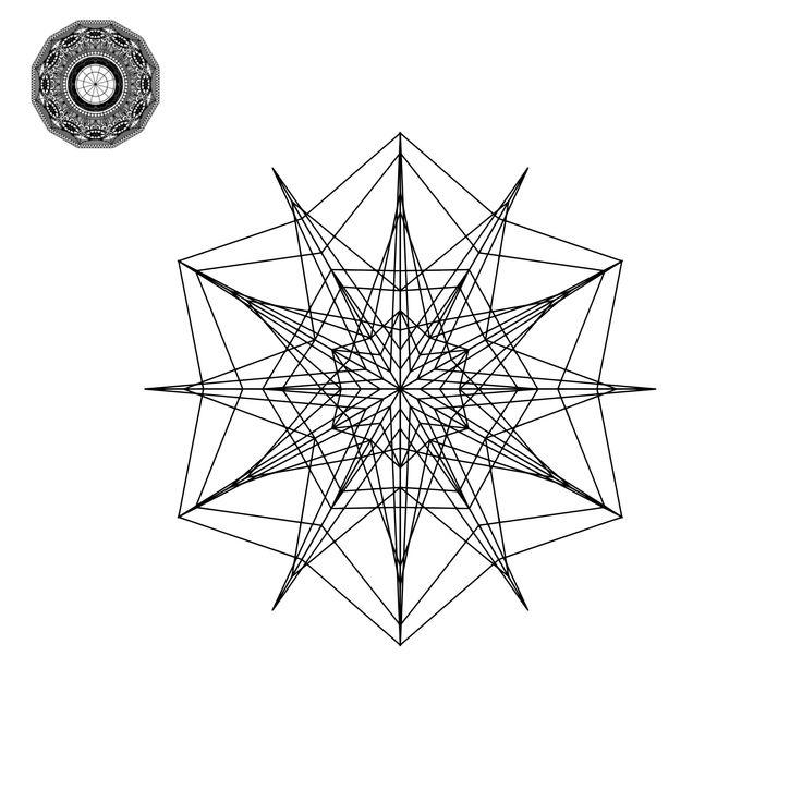 Download Mandala Monogram Svgs Files   Mandala design, Mandala ...