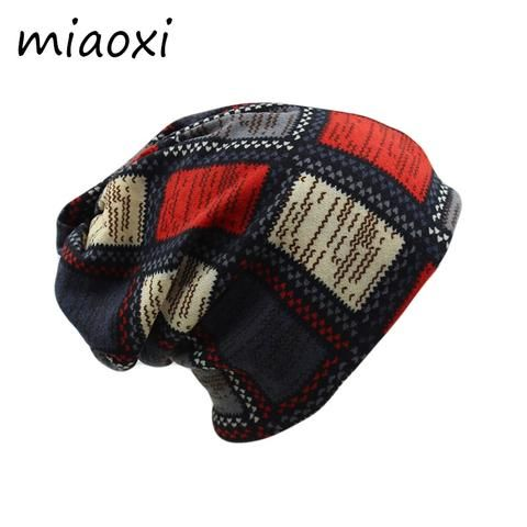 738d2947b0f miaoxi Cheap Price Women Hat Fashion Polyester Girls Skullies Beanies Female  Scarf Spring Winter Cap Two Used Adult Hats