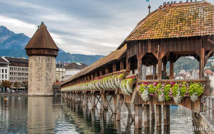Chapel Bridge,Lucerne, Switzerland