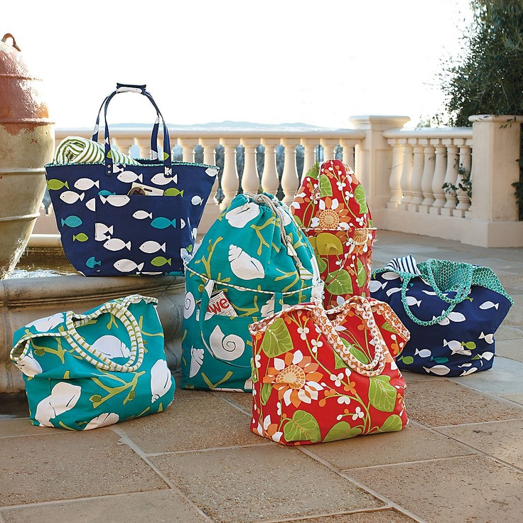 136 best BEACH BAGS images on Pinterest | Beach bags, Beach totes ...