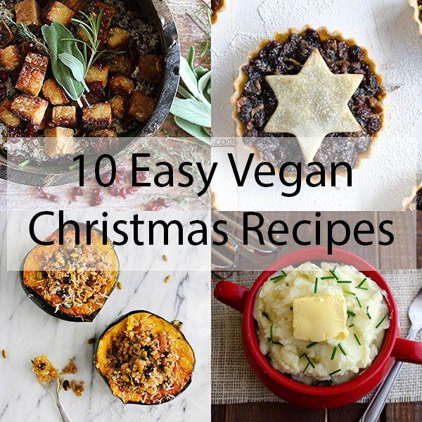 10 Easy Vegan Christmas Recipes