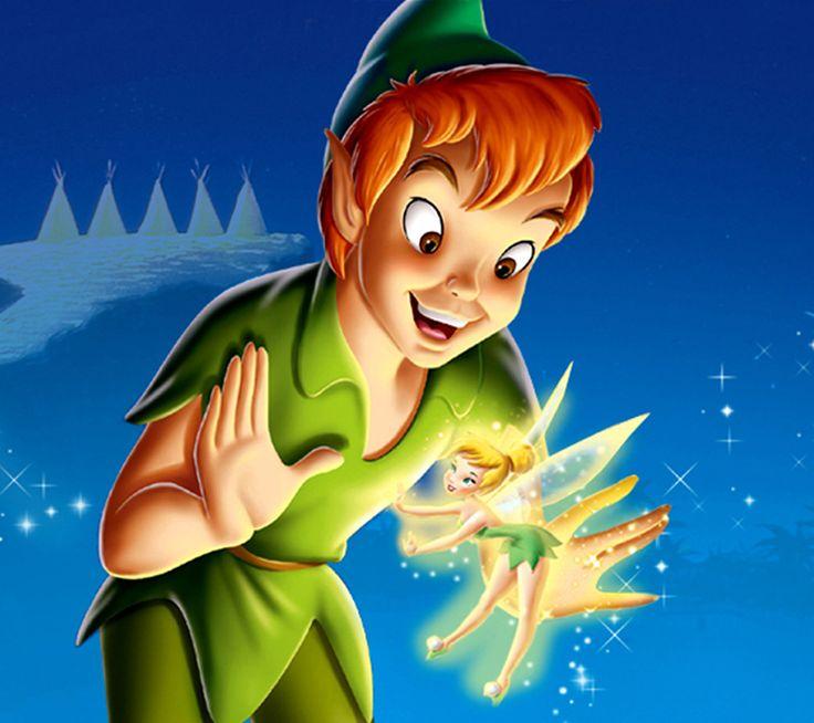 Tinkerbell & Peter Pan wallpaper