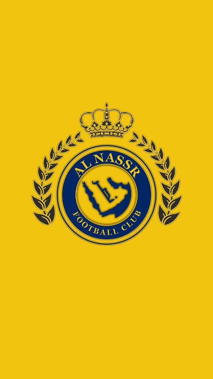 Al Nassr Football Logo Gaming Wallpapers 8k Wallpaper