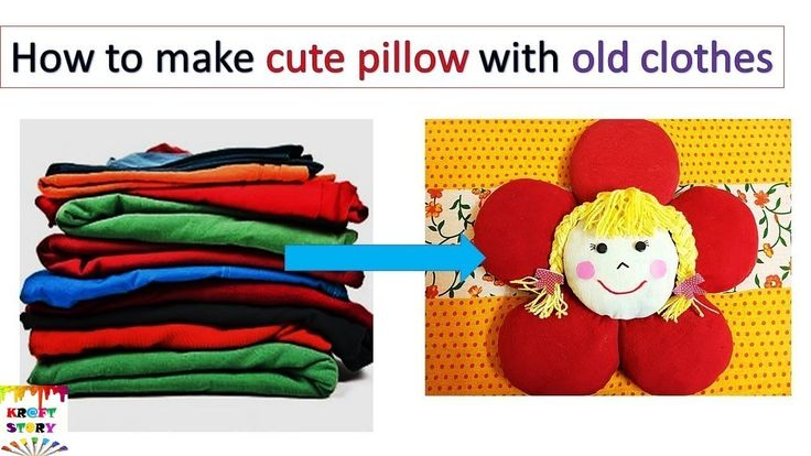 Old T-shirt recycle | Old T-shirt reuse | Reuse old clothes | Best out o...